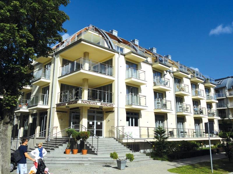 Aparthotel Panorama Avangard In Swinem U00fcnde Polen