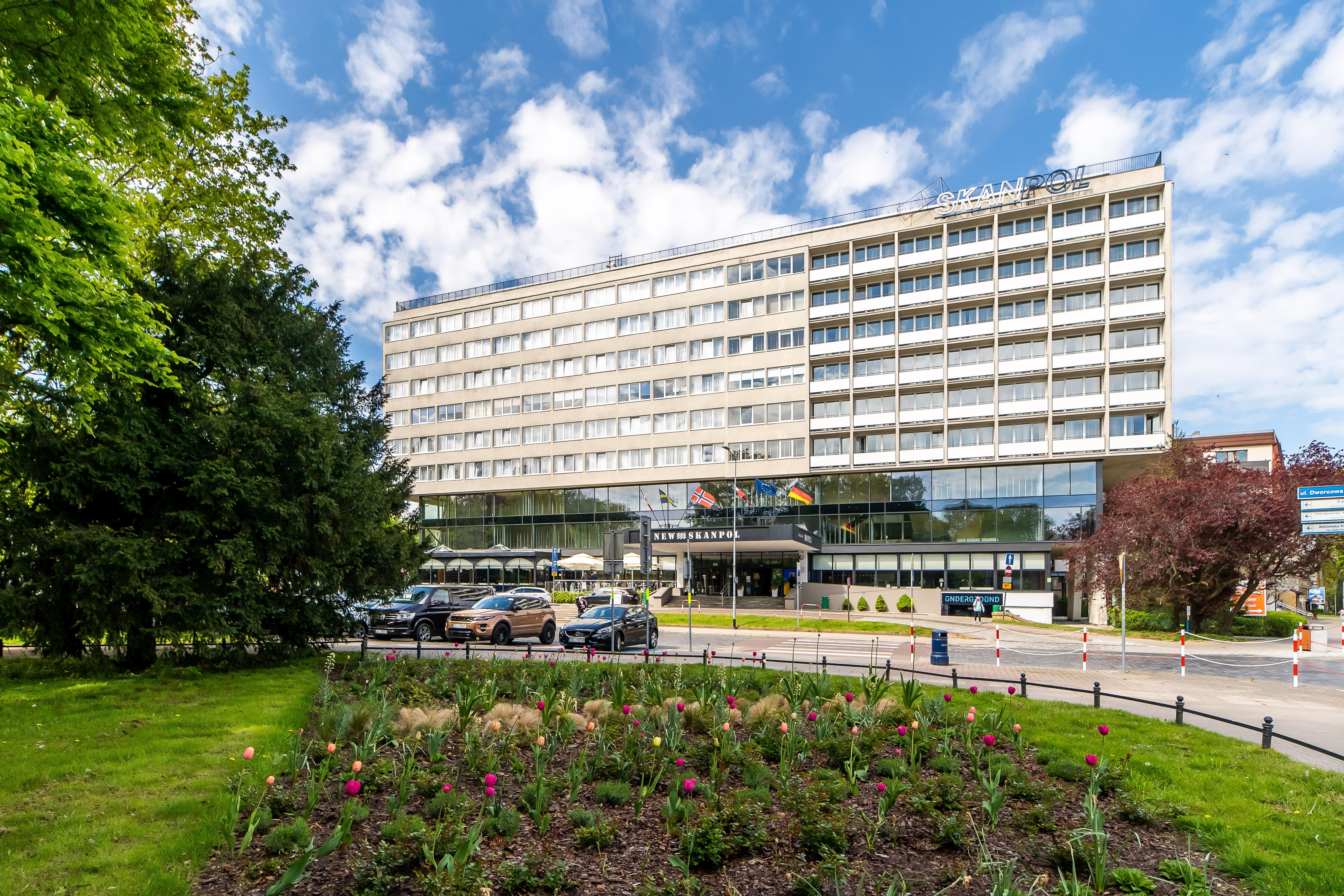 Hotel New Skanpol In Kolberg Polen