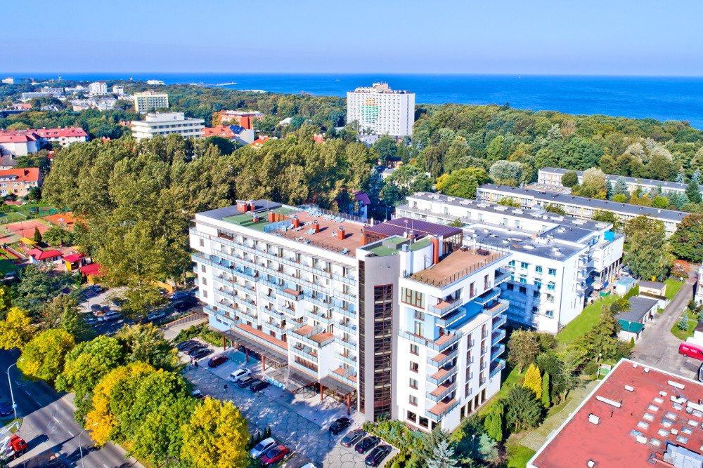 Neu werden kaufen uk billig verkaufen Kurhotel Olymp III in Kolberg - direkt in Polen buchen