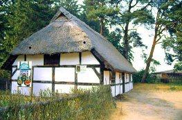 Freilichtmuseum Kluki bei Leba in Polen