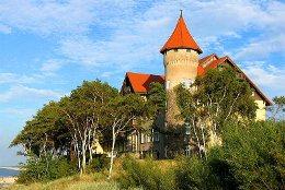 Altes Kurhaus, heute Hotel Neptun in Leba