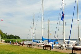 Marina in Dziwnow Polen
