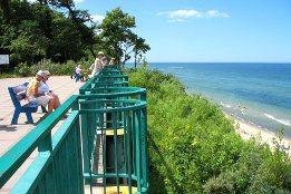 Steilküste bei Rewal in Polen