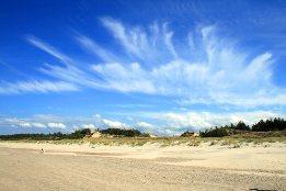 Breite Strände an der polnischen Ostsee bei Leba