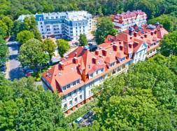 Hotel Kaisergarten In Swinemünde Polen